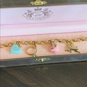 JuicyCouture Rare charm bracelet